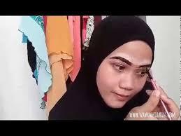 membuat alis dengan henna tutorial apply inai kening henna brow youtube
