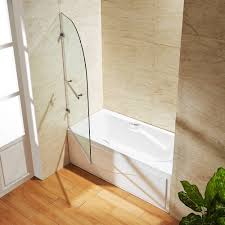 Clear Bathtub Amazon Com Vigo Orion 34 In Curved Bathtub Door With 3125 In