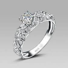 promise ring retro hollow 925 sterling silver engagement ring evermarker