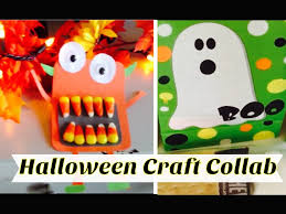 Craft Halloween halloween craft collab halloween treat bag and candy corn