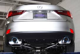 lexus isf exhaust q300 cat back exhaust system with rolled titanium burnt tip for