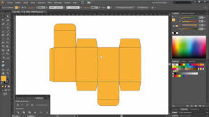 Home Design Software Adobe Carton Packaging Design In 5 Minutes Adobe Illustrator Youtube