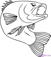 coloring pages delightful fish drawings kids 6cp5earzi