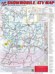 Map Wisconsin Atv U0026 Utv Trails In Northern Wisconsin Atving Trails Wi
