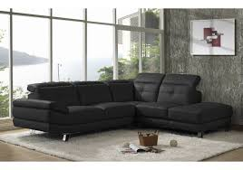 canapé roma canapé d angle droit roma cuir noir canapés et fauteuils salon