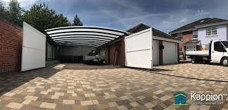 garage attached double carport work area installed in suffolk