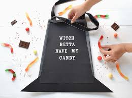 how to make a halloween trick or treat bag to channel your inner