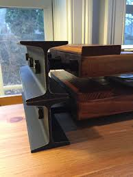 Wood Desk Organizer by I Beam Desk Organizer Industrial Style File Shelf Letter