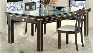 glass cover for dining table round glass top dining tables with wood base table cover a gallery
