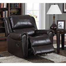 brody brown italian leather rocker recliner chair free shipping