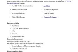 Cra Sample Resume by Resume Entry Level Clinical Research Reentrycorps