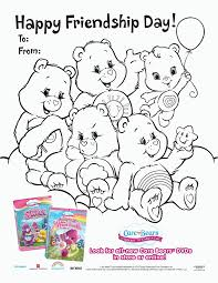 happy friendship day coloring pages 2016 friendship day coloring