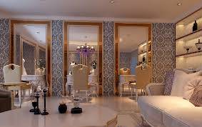 Table Salon Design Interiors Design Salon Interior Design Al Fahim Interiors