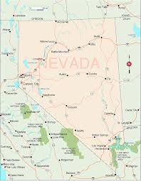 map of nevada nevada map travelsfinders