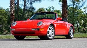 porsche 911 convertible 1980 classic cars for sale