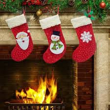new years socks 3pcs lot new year 2016 christmas socks santa claus candy