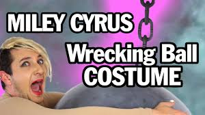 miley cyrus halloween costume how to miley cyrus wrecking ball halloween costume youtube