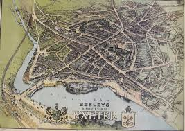 Exeter England Map by Exeter Working Papers In Book History Exeter Maps