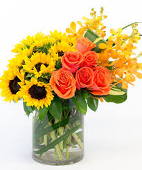 suns and roses sunflowers roses florists san diego