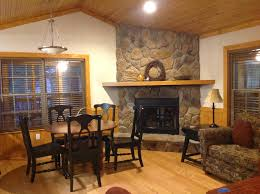 inside of the blue springs cabin the beaches online