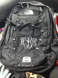 monogrammable items monogrammed backpack college essential college