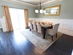 white wainscoting in dining room at home design ideas