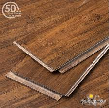 antique java fossilized wide click bamboo flooring rockland
