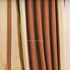 tone curtain panel burlap country style window treatment
