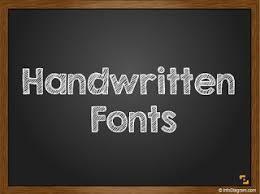 4 Handwritten Fonts For Blackboard Ppt Slide Design Infodiagram Ppt Slide Designs