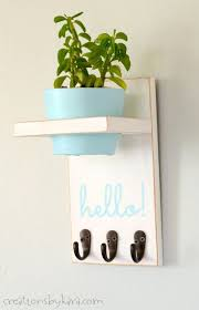 Do It Yourself Home Decor Projects by Best 25 Diy Key Holder Ideas On Pinterest Key Hook Diy Key Key