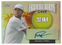 mardy fish 2016 leaf metal tennis fastest serve 232kmh prismatic