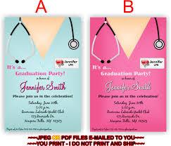 graduate invites amusing nursing graduation invitations designs