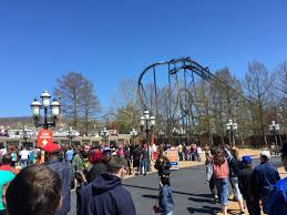 Six Flags St Louis Missouri Six Flags St Louis Opening Weekend 2015 Coaster101