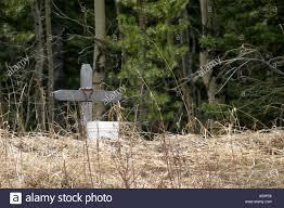 memorial crosses for roadside roadside memorial cross stock photo 3670613 alamy