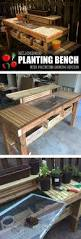 594 best potting benches images on pinterest gardening
