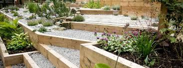 landscaping ideas for hillside backyard slope solutions inside
