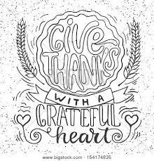 give thanks grateful vector photo bigstock
