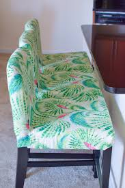 Ikea Bar Stool Covers Ikea Henriksdal Bar Stool Slipcover Rockin Cushions A Touch Of Teal