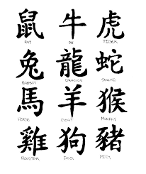 chinese shio years lettering tattoo design lettering tattoos