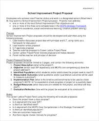 project proposal templates 9 free word pdf format