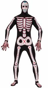 Halloween Skeleton Costume Men U0027s Dead Skeleton Costume Dead Costume