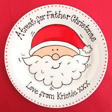 personalised plates santa