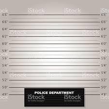 mugshot backdrop lineup or mugshot background vector stock vector