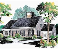 cape cod house plans with attached garage plan 81045w expandable cape with two options cod cape cod