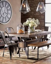 create a warm industrial living space industrial dining rooms - Industrial Kitchen Table Furniture