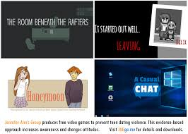four new video games to prevent teen dating violence now available