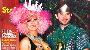 zelda halloween costumes people magazine thinks this is christina aguilera dressed up as
