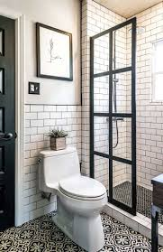 100 Black And White Tile Bathroom Ideas Best 25 Farmhouse Best 25 Small White Bathrooms Ideas On Pinterest Small