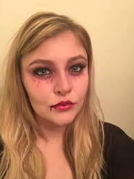 glam vampire tutorial simple halloween makeup 3 bristolian beauty