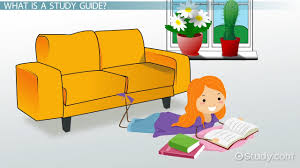 how to make a study guide video u0026 lesson transcript study com